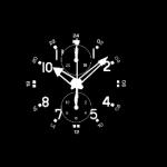 Hacher Uhren Zifferblatt Darstellung